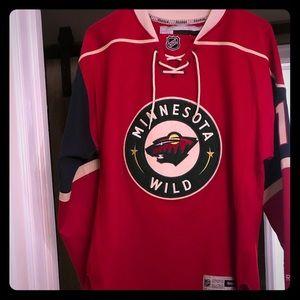 Women's MN wild jersey